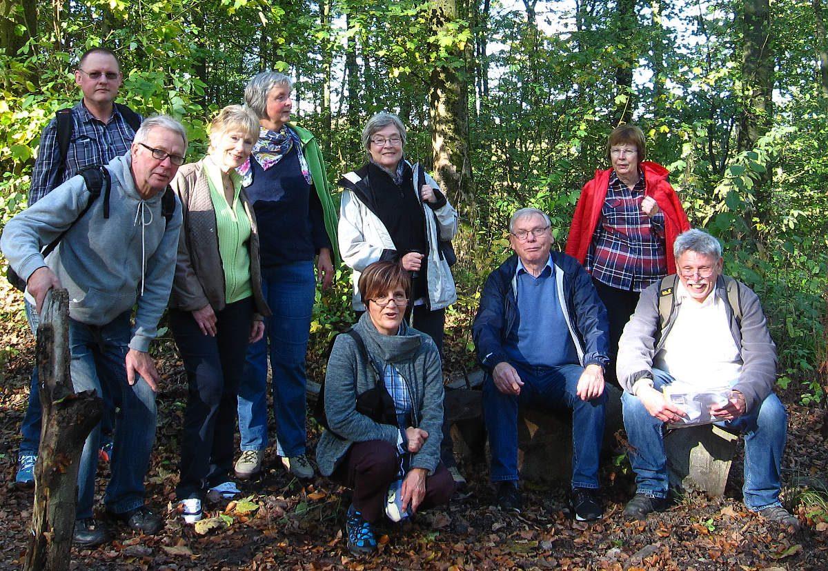 Wanderung im Hagener Stadtwald 16.10.2016