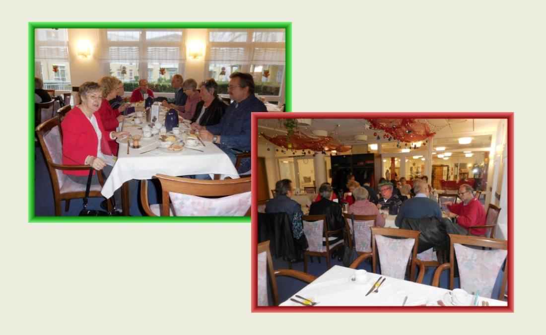 Zum Jahresausklang: Frühstück im Cafe des CMS Pflege-Wohnstift