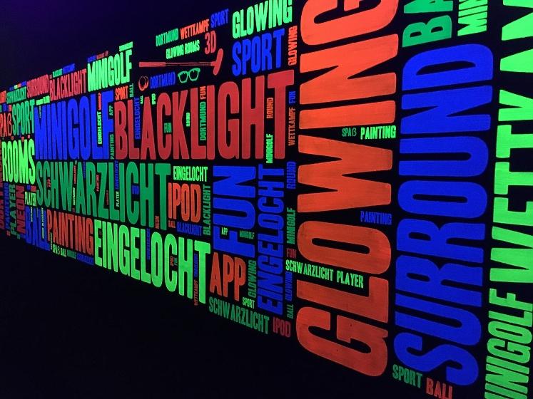 Glowing Rooms – ein Riesenspaß