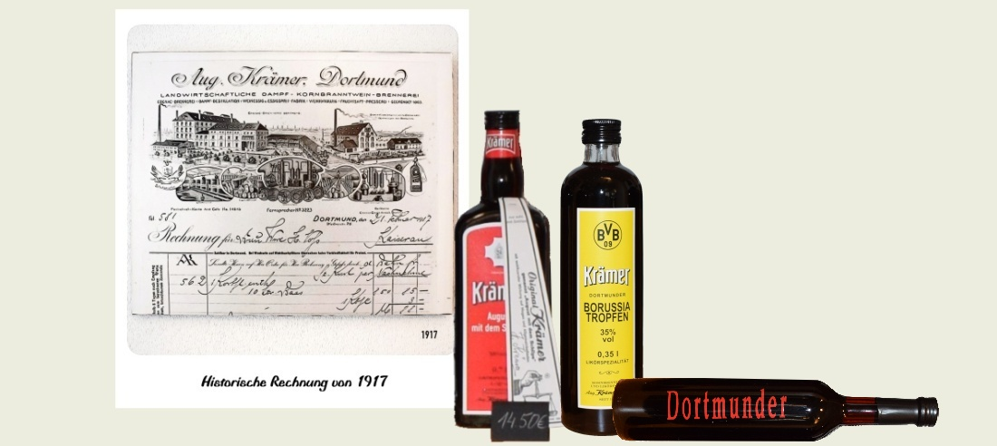 Die Besichtigung der Kornbrennerei und    Likörfabrik von August Krämer