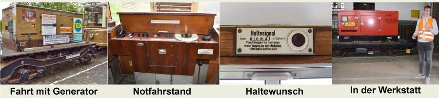 Ausflug zum Nahverkehrsmuseum in Dortmund-Nette