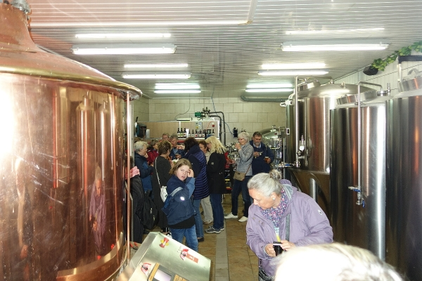 Ausklang in der Lippstädter Brauerei Thombansen
